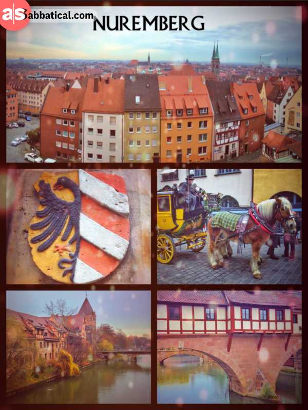 Nuremberg - lots of sausages, churches and bridges