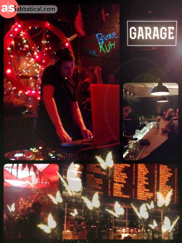 Bunte Kuh & Wildfang - decent party in a small but lovely club