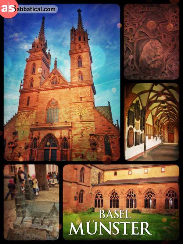 Basler Münster - my cities landmark is kept in a very good shape