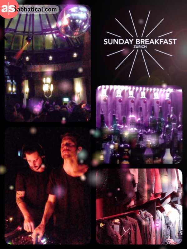 Sunday Breakfast - having beats instead of bread for breakfast