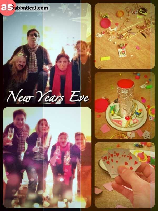 New Years Eve - celebrating the progression of time with my family