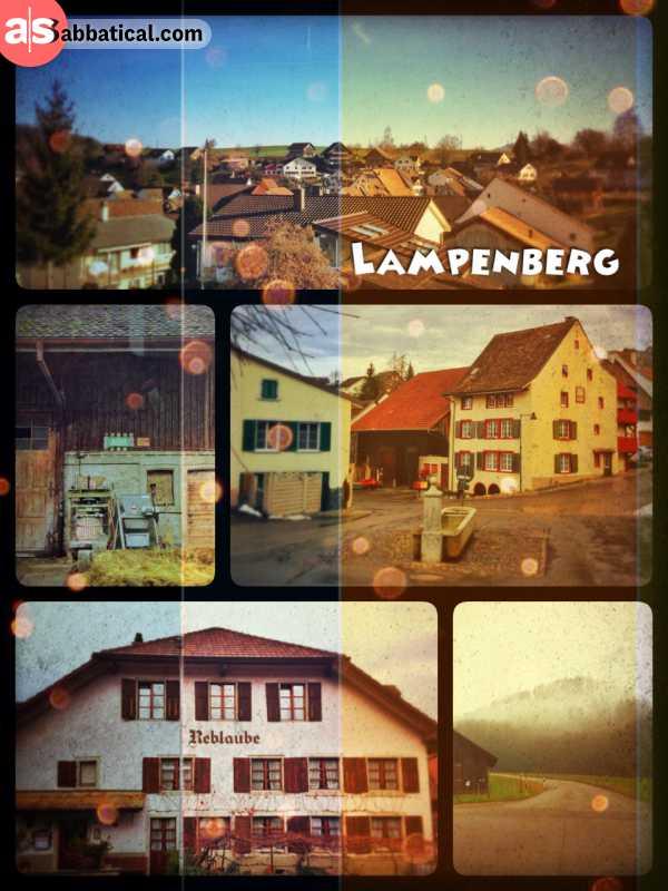 Lampenberg - idyllic township with an open heart