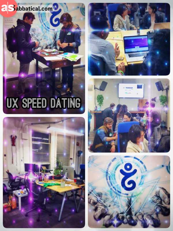speed dating ux