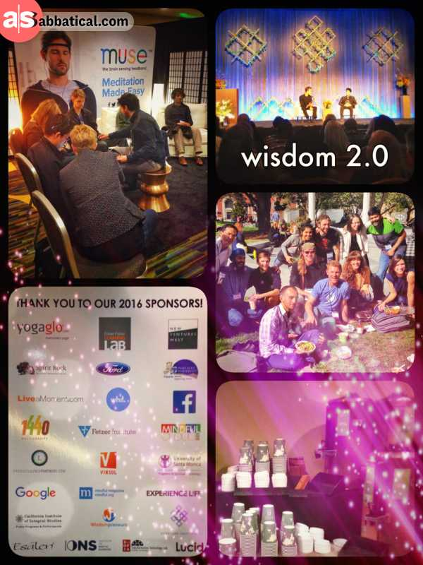 wisdom 2.0 - Day 3 - meeting random people at a round table to discuss global issues and solutions