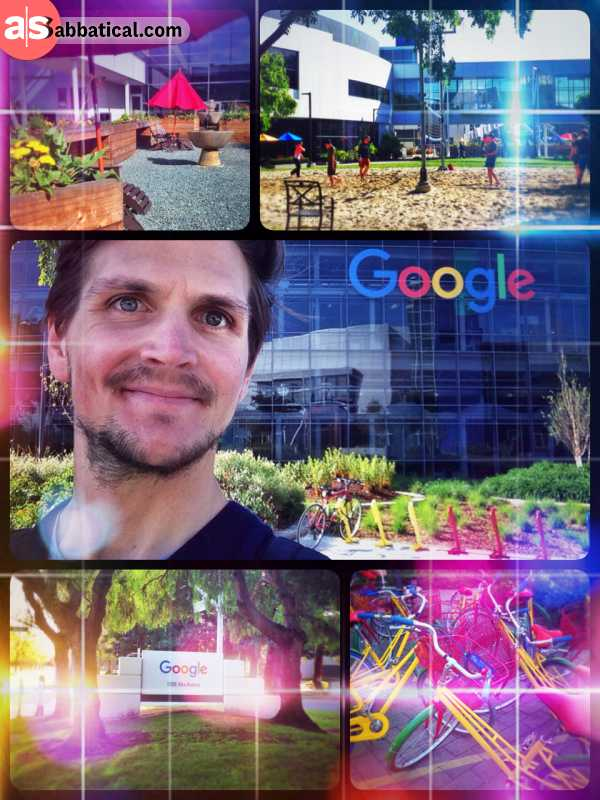 Googleplex (headquarters) - visiting Google's headquarter in Mountain View, the heart of the internet we know