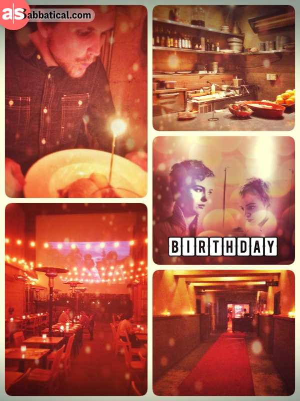 Happy Birthday! - my great friends all over the world celebrated my birthday multiple times today!