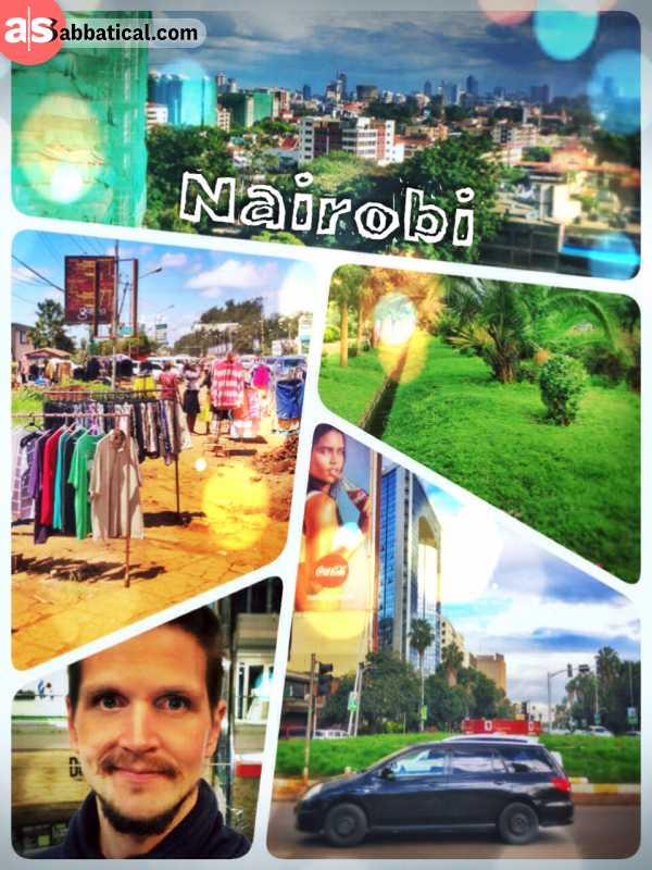 Nairobi - finally my sabbatical journey brought me to the sub saharan Africa, to Kenya!
