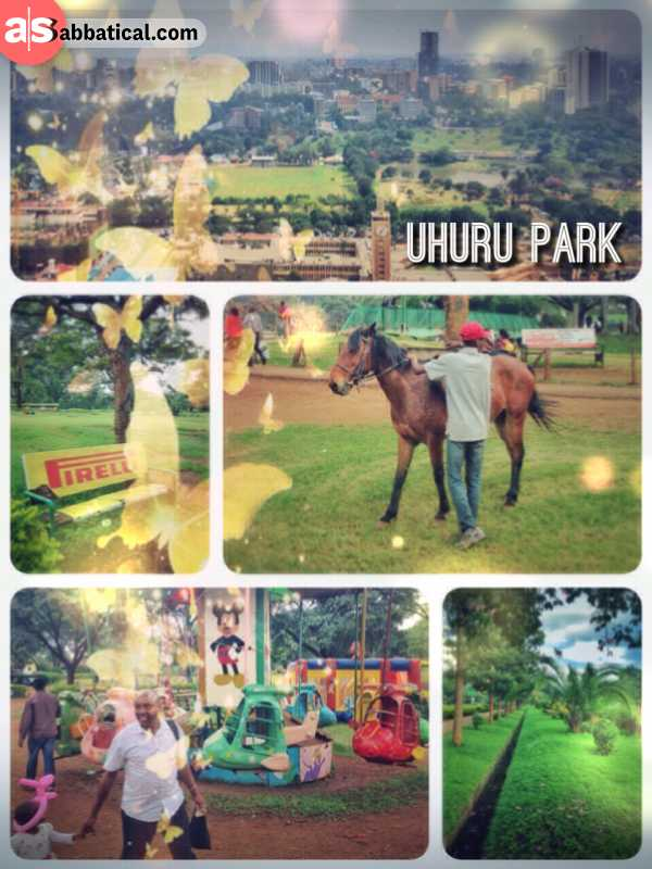 Uhuru Park - walking through an allegedly dangerous park in the heart of Nairobi