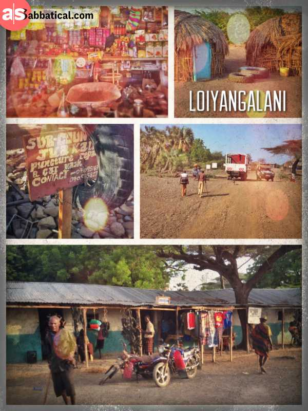 Loiyangalani - exploring the village in the middle of nowhere between a desert and the lake