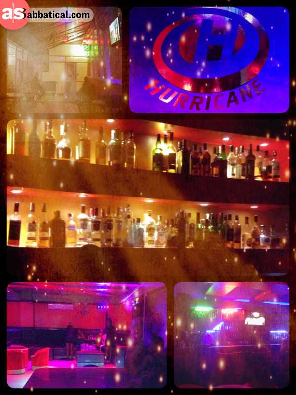 Hurricane Lounge - spontaneous party night at a local lounge with no other foreigners