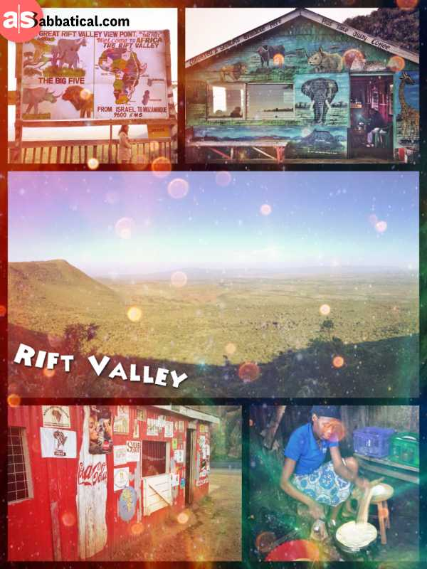 Great Rift Valley - most beautiful outlook over the strongest tectonic forces of nature
