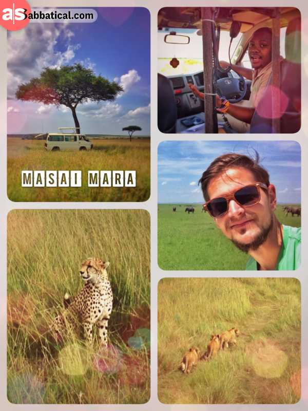 Masai Mara - unforgettable days in the wild, being incredible close to all the wild animals