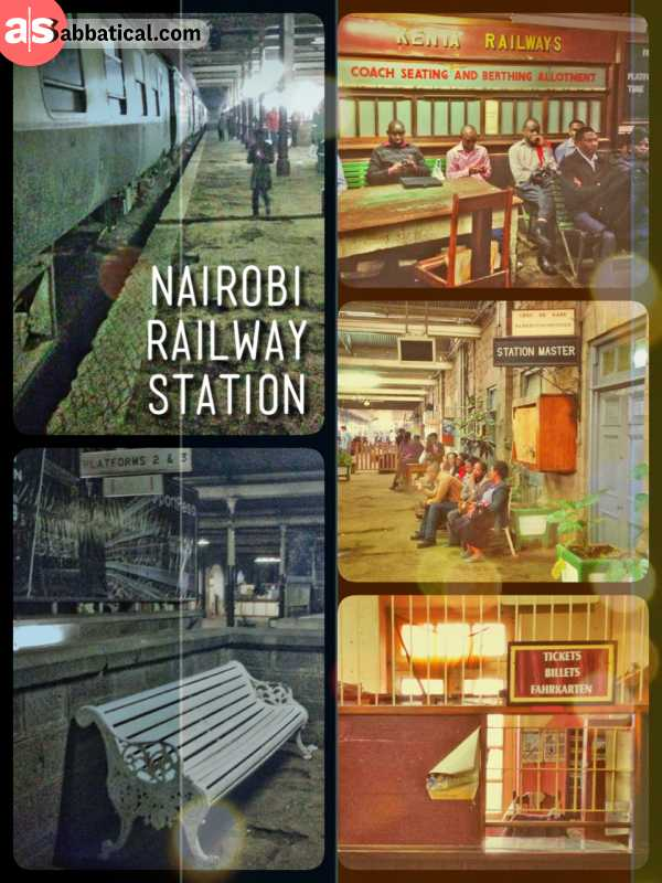 Railway Station - waiting for hours at the historic site and meeting interesting characters