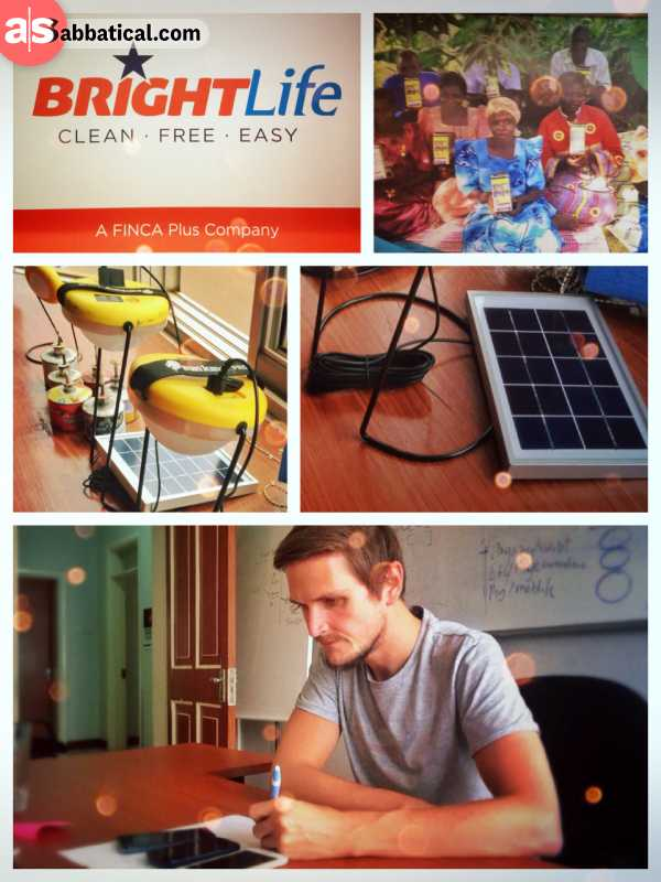 BrightLife by FINCA - performing a usability test with great sales agents for clean energy products