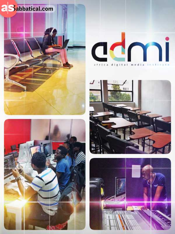 Africa Digital Media Institute - meeting Africa's creative multimedia creators and producers of tomorrow