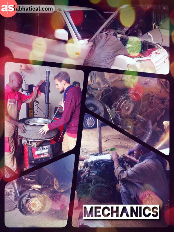 Car Mechanics - fixing too many mechanical and electrical problems before hitting the road