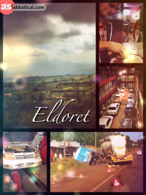 Eldoret - finally back on the road again - after living 4 long months in Nairobi