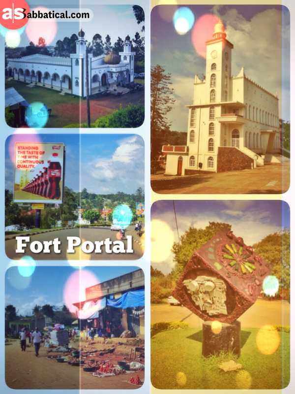 Fort Portal - having a short stopover and milkshake in between many other highlights