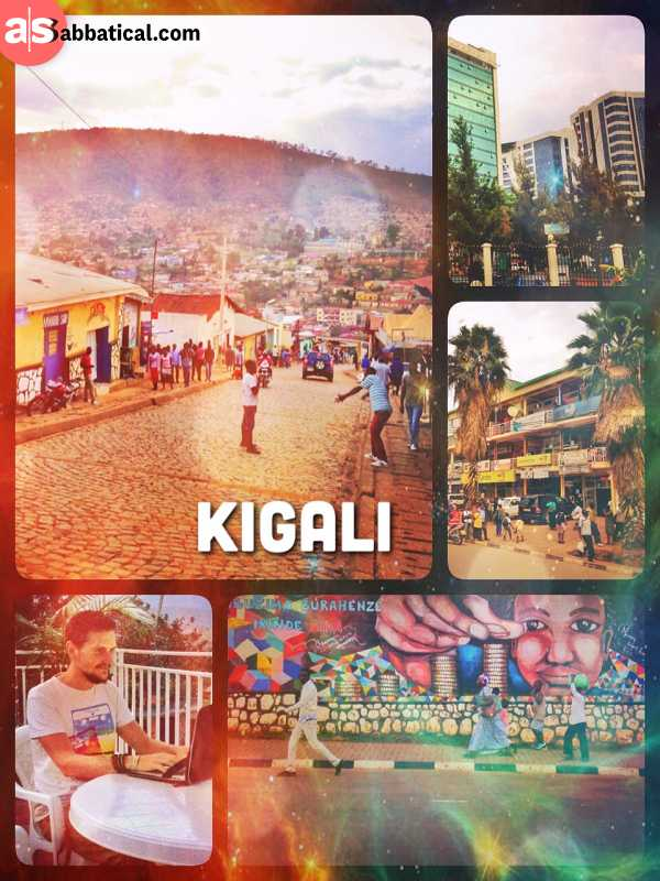 Kigali - probably the cleanest and safest city in Africa with a devastating history