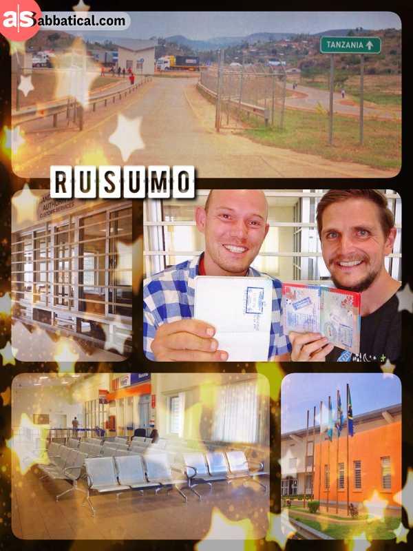 Rusumo (Rwanda - Tanzania) - lazy border crossing in a brand new, but empty one-stop-shop