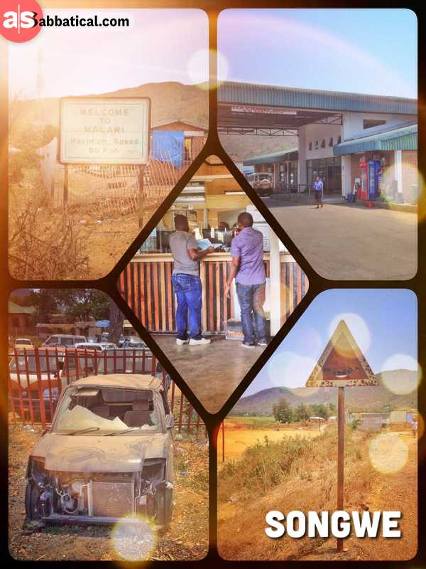 Songwe (Tanzania - Malawi) - longest border crossing and successful fight for a cheaper transit Visa