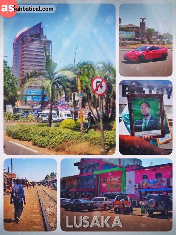 Lusaka - Zambia's capital, built by concrete and copper, paid by the mining industry