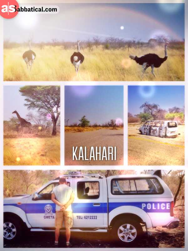Kalahari - fighting my way out of an unjustified speeding ticket and avoiding a possible bribe
