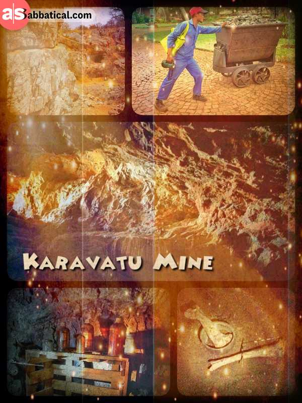 Karavatu Mine - exploring the depths of a dusty, unsecured copper mine near a private luxury lodge