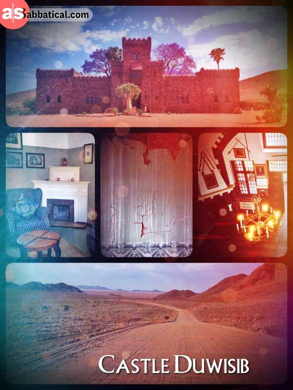 Duwisib Castle - finding a German pseudo-medieval castle in the middle of the dry Namib Desert