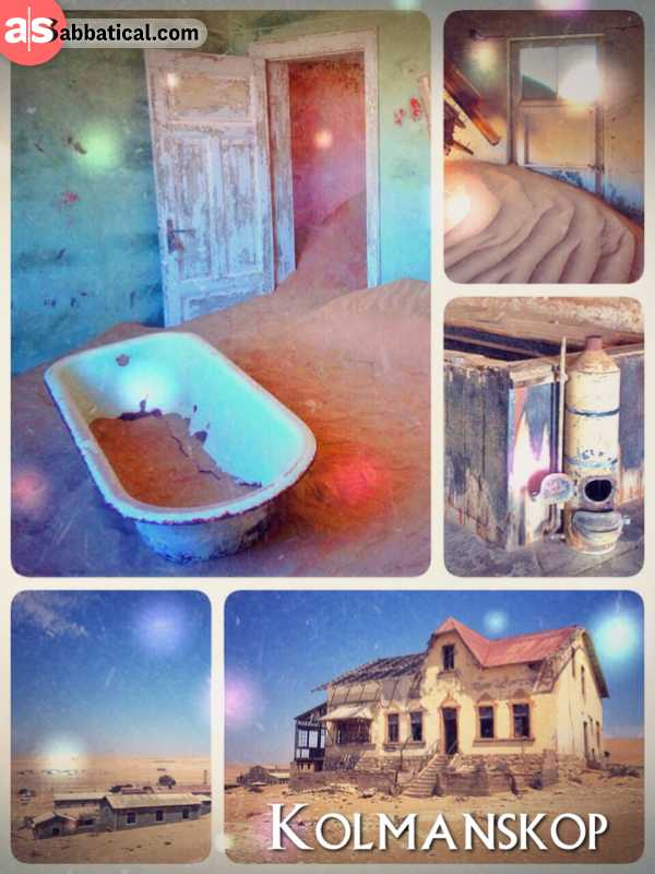 Kolmanskop - stumbling through an abandoned ghost town in the Sperrgebiet, Namib Desert
