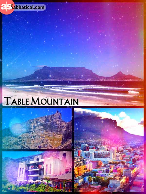 Table Mountain - admiring the omnipresent and most iconic mountain in all over Southern Africa