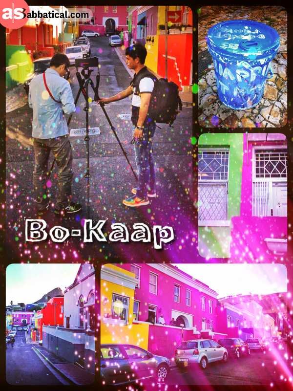 Bo-Kaap - exploring a former township of Malaysian immigrants with the most colourful houses