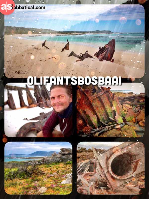Olifantsbosbaai - following the trails of rusty shipwrecks along the coast of the Cape Peninsula