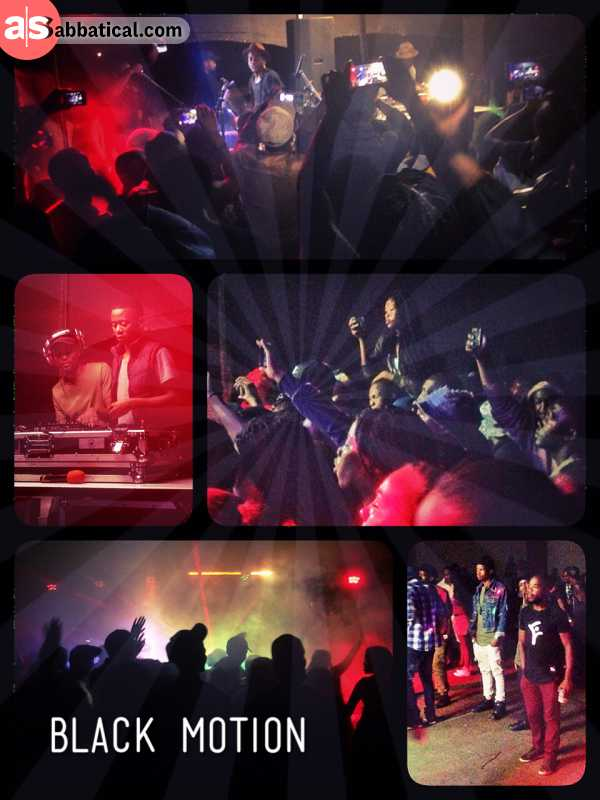 Black Motion at Woodlands - totally unexpected live concert of an amazing South African electronic music band