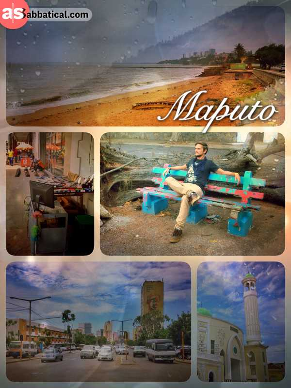 Maputo - arriving at the last destination of my African road trip, the capital of Mocambique