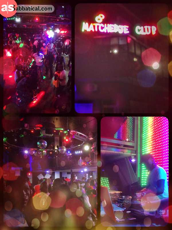 Matchedje - club-hopping and clubbing in Maputo, finding the right place in the end