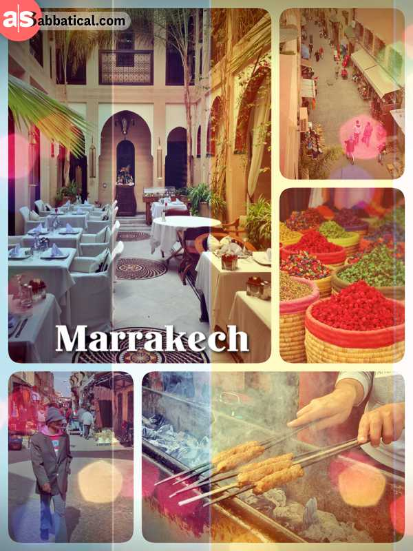 Marrakesh - starting a new journey in the most travel-friendly country of Northern Africa