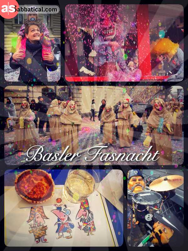 Basler Fasnacht - celebrating spring during 3 wild days of parades, concerts and feasts