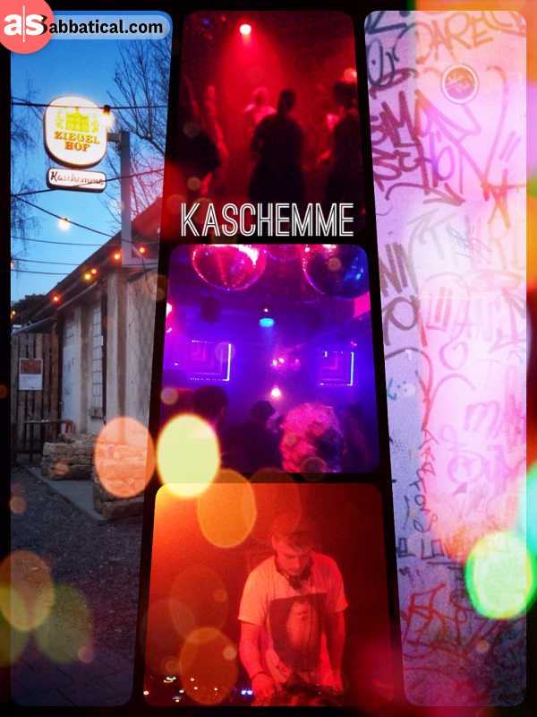 Kaschemme Basel - Rave the Day (daytime) in one of the coolest underground clubs in the city of Basel