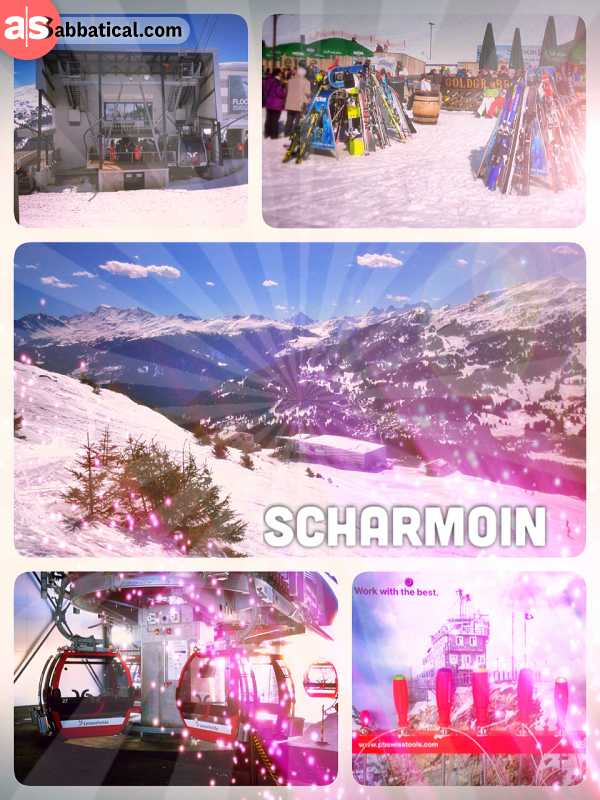 Scharmoin - right in between the city of Lenzerheide and the Rothorn mountain peak