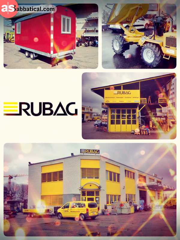 RUBAG - Swiss family run company selling construction site machinery since 111+ years