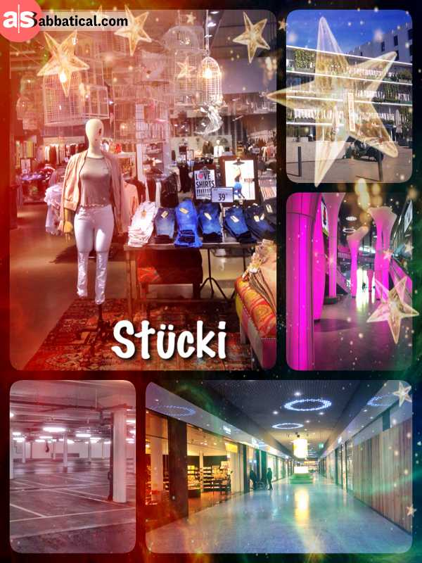 Stücki Shopping Mall - walking through the largest shopping mall in Basel, just looking not buying