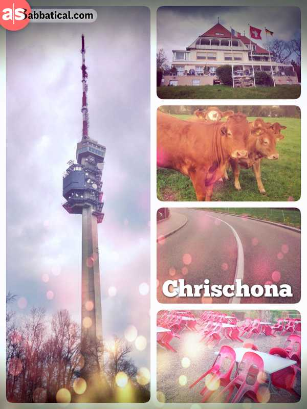 Chrischona Fernsehturm - remote working from a very special location just outside of Basel-City
