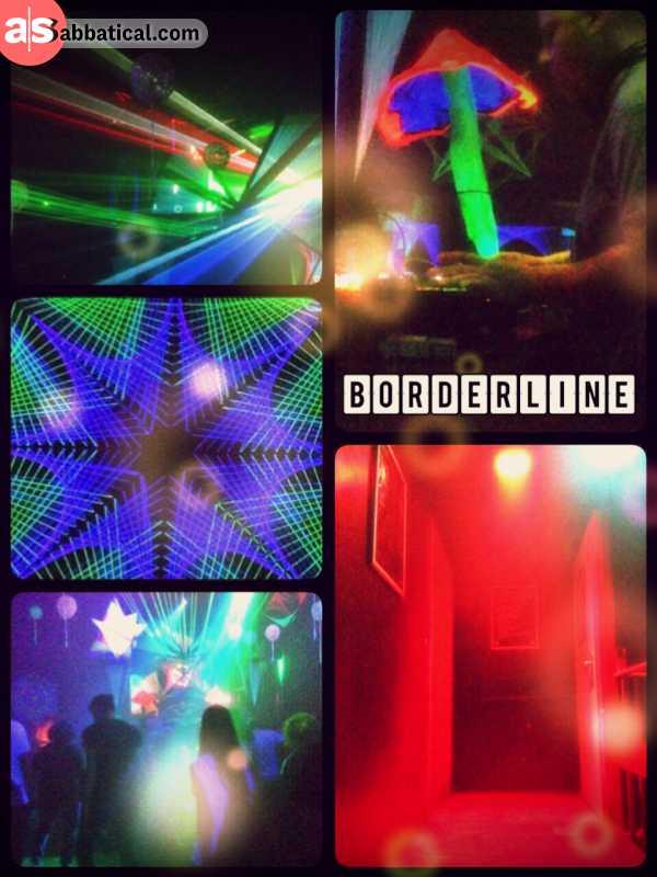 Borderline Club Basel - raving to wild Goa music in one of Basel's darkest underground night clubs
