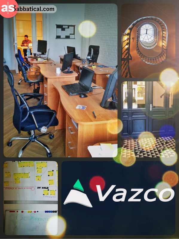 Vazco Wroclaw - visiting my web-development project partners in Poland
