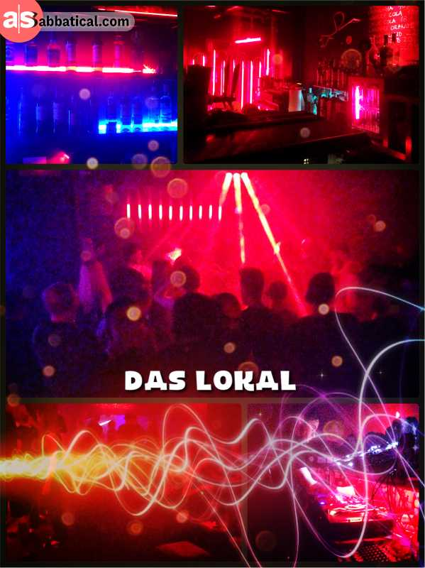 Das Lokal Wroclaw - dancing after a few days of hard work with my project partners
