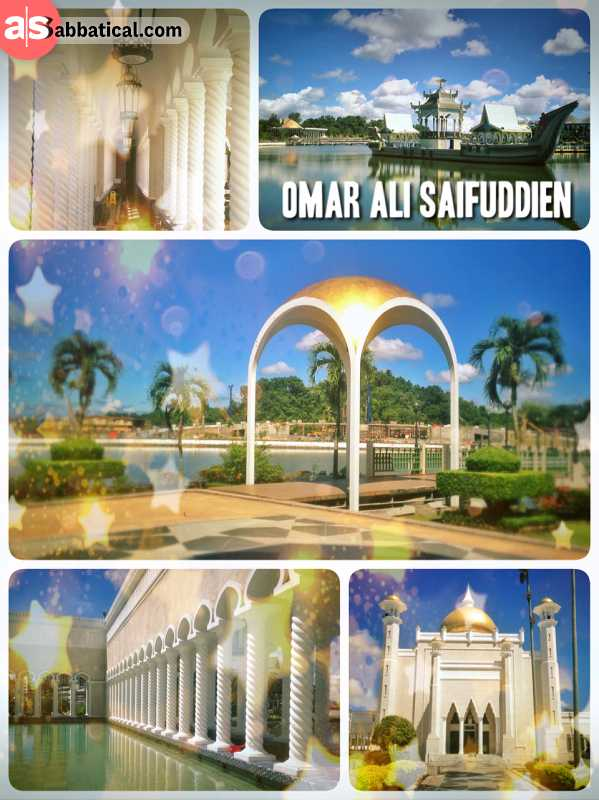 Omar Ali Saifuddien Mosque - being amazed by the most beautiful Mosque in all of Asia
