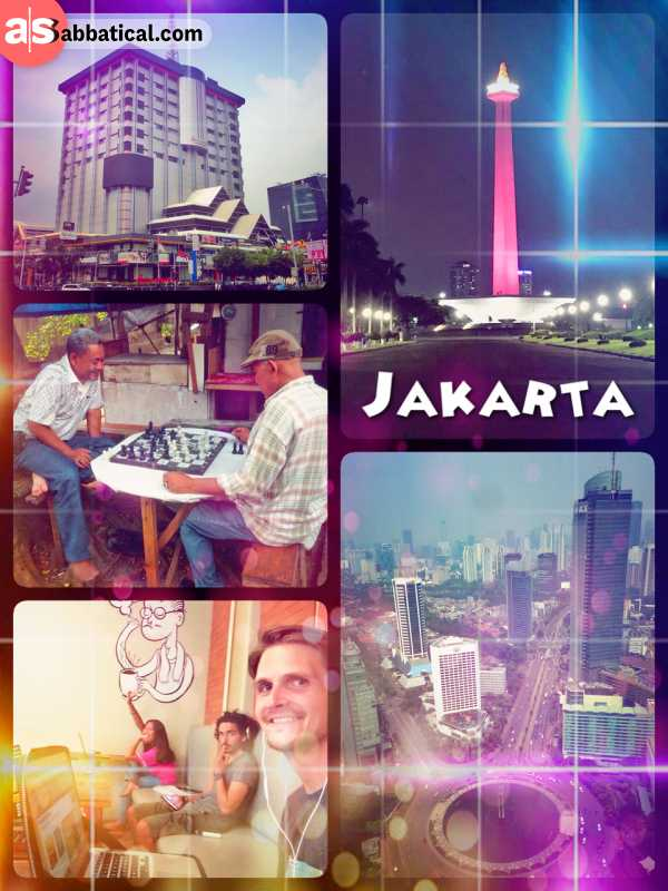Jakarta - exploring the rather modern capital of Indonesia, a metropolis of 10 million