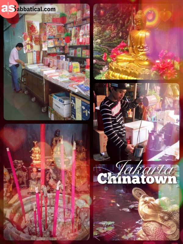 Chinatown Jakarta - visiting Jakarta's oldest Chinese temple and eating tasty street food