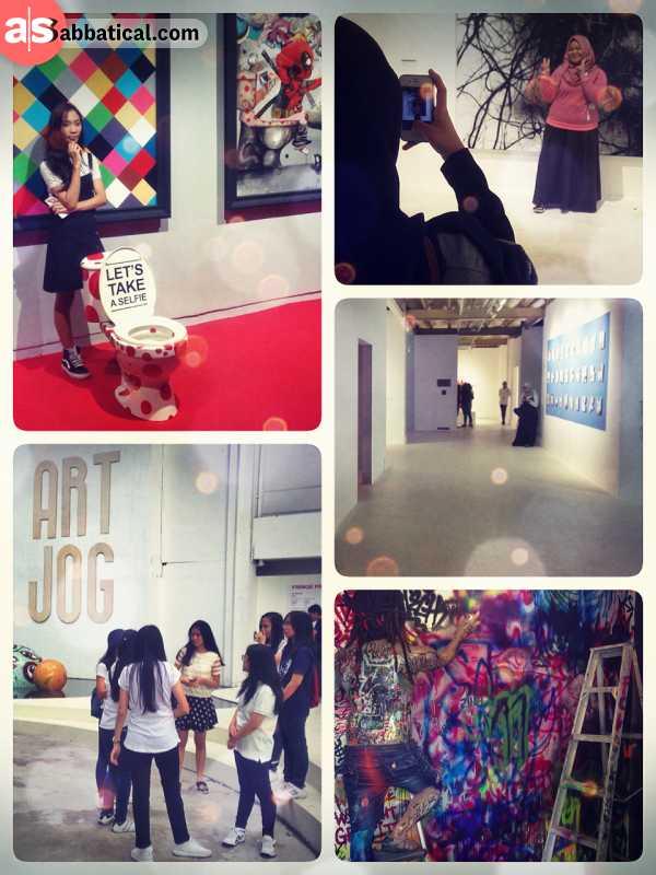 Art Jog - international annual contemporary art exhibition in the heart of Yogyakarta